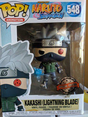 Funko Pop Kakashi (Lightning Blade) Exclusivo Naruto #548  - Game Land Brinquedos