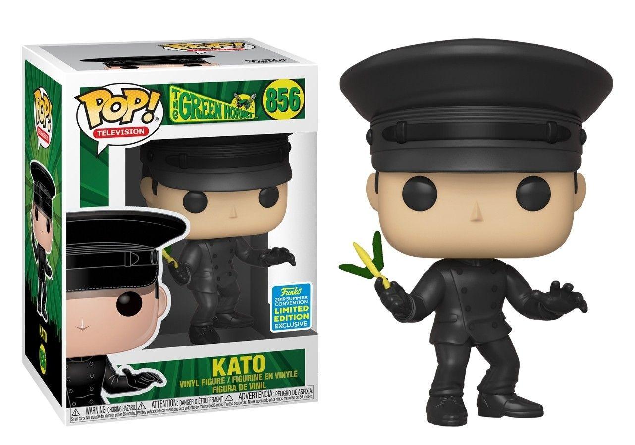 Funko Pop Kato the Green Hornet San Diego Comic Con 2019  - Game Land Brinquedos
