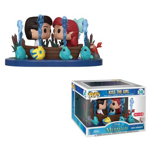 Funko Pop Kiss the Girl Ariel Pequena Sereia Disney Movie Moments Exclusivo Target  - Game Land Brinquedos