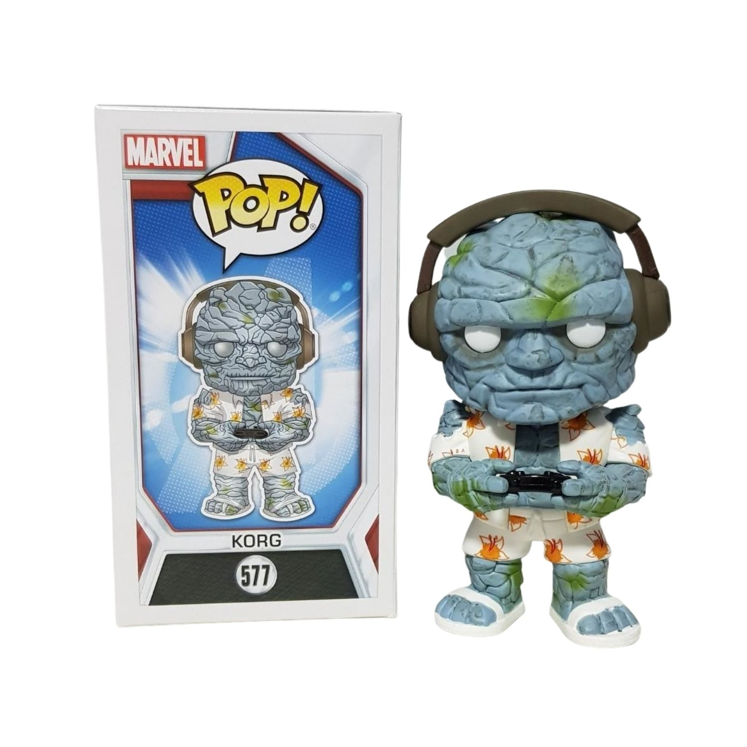 Funko Pop Korg #577 Marvel Avengers Endgame  - Game Land Brinquedos