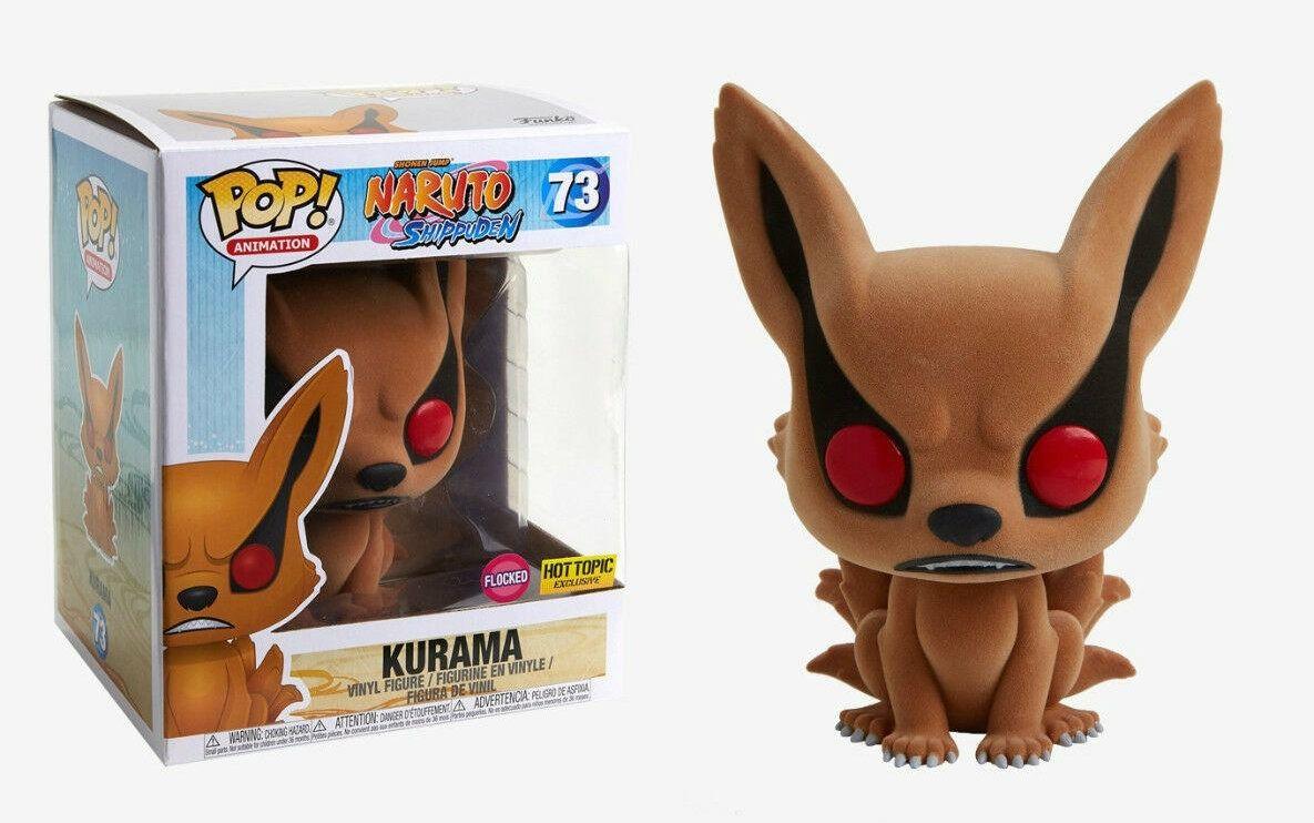 Funko Pop Kurama Flocked Exclusivo Hot Topic Super Sized Naruto Shippuden  - Game Land Brinquedos