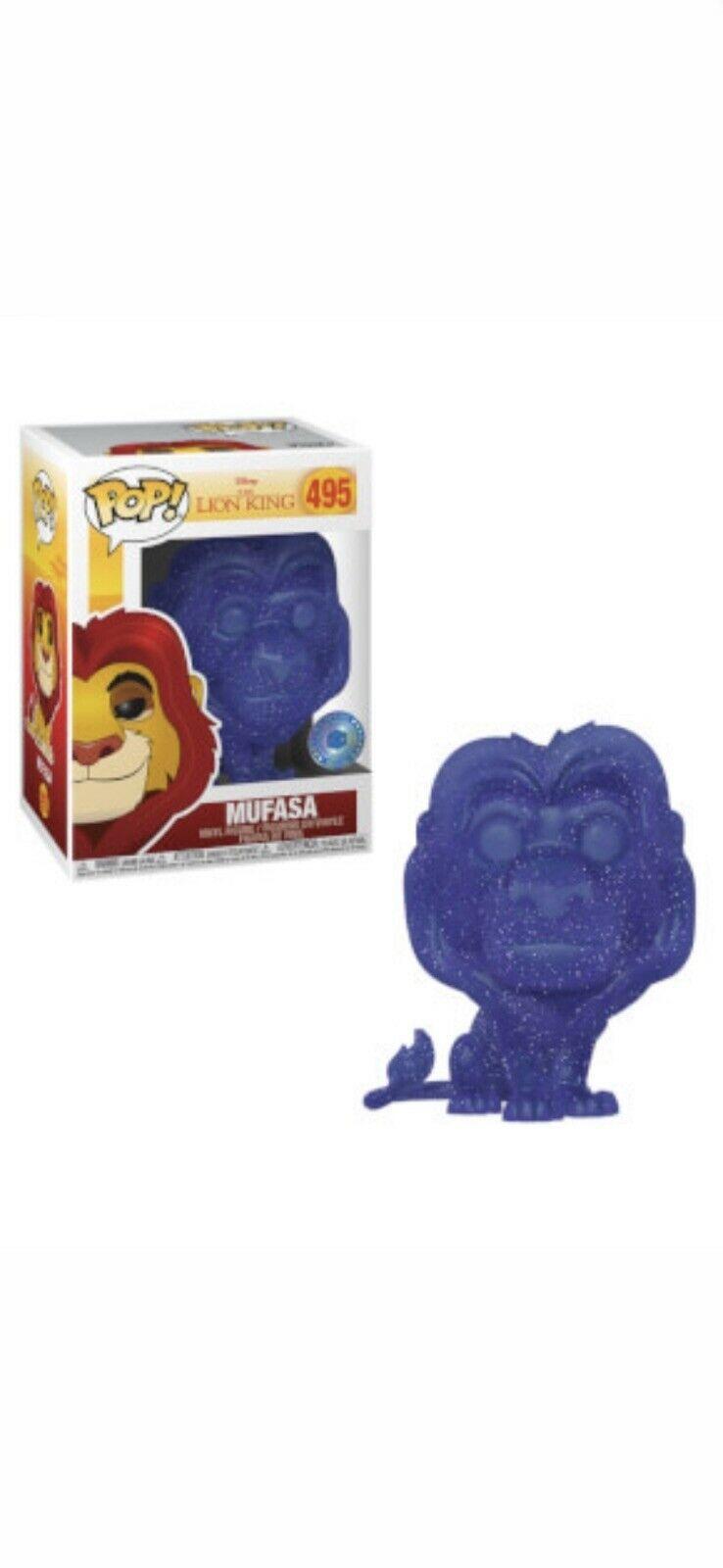 Funko Pop Lion King Mufasa Spirit Exclusivo Piab  - Game Land Brinquedos