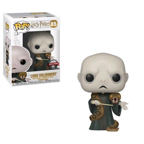 Funko pop Lord Voldemort com Nagini Special Edition #85  - Game Land Brinquedos