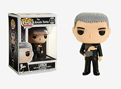 Funko Pop Lurch The Addams Family #815 Tropeço Familia Addams  - Game Land Brinquedos