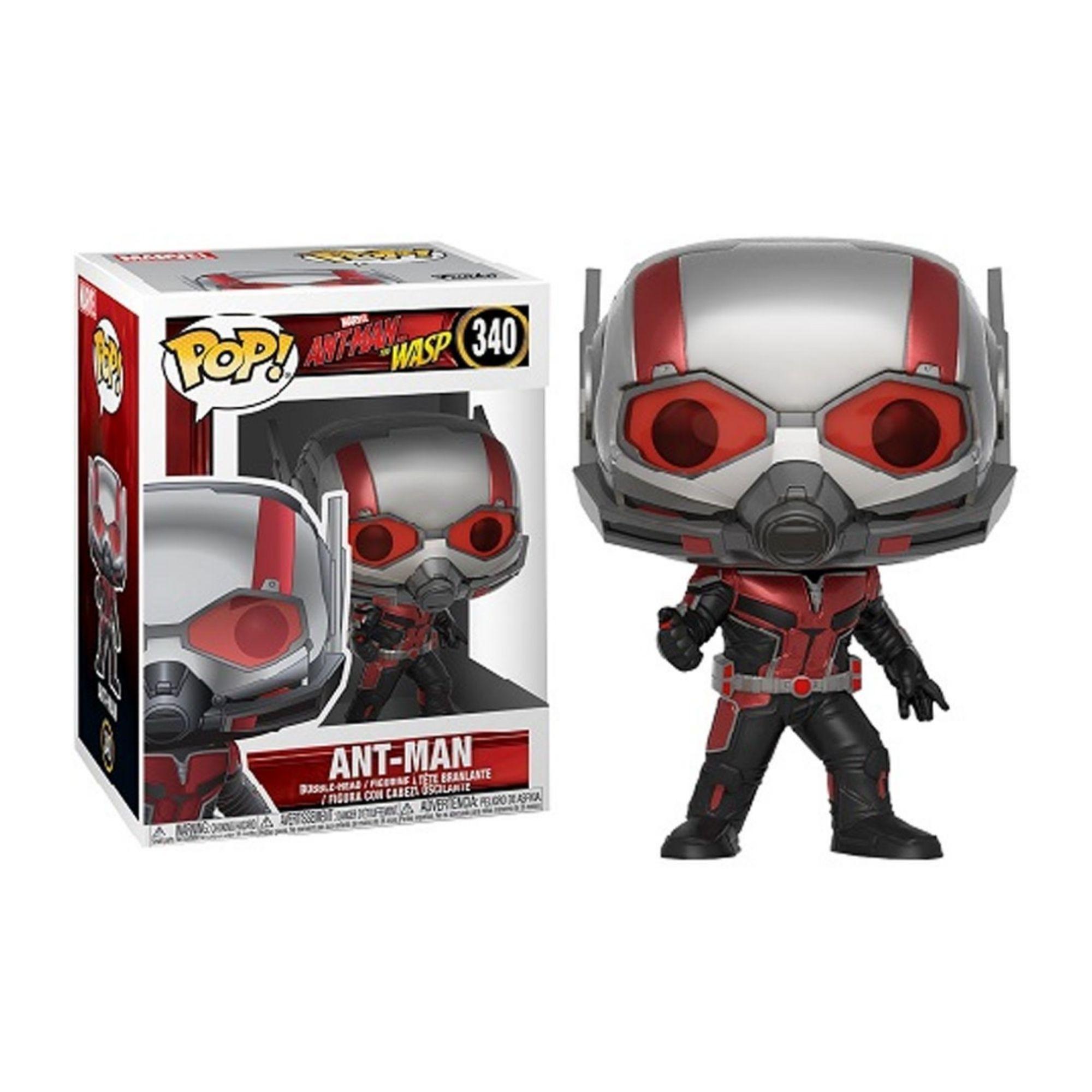 Funko Pop Marvel Ant-Man Homem Formiga #340  - Game Land Brinquedos