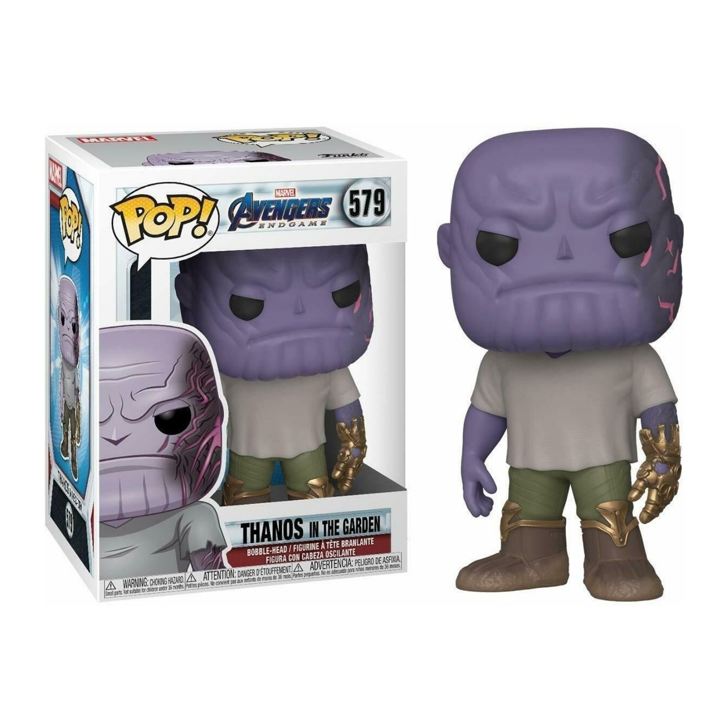 Funko Pop! Marvel Avengers Endgame Thanos In The Garden #579  - Game Land Brinquedos