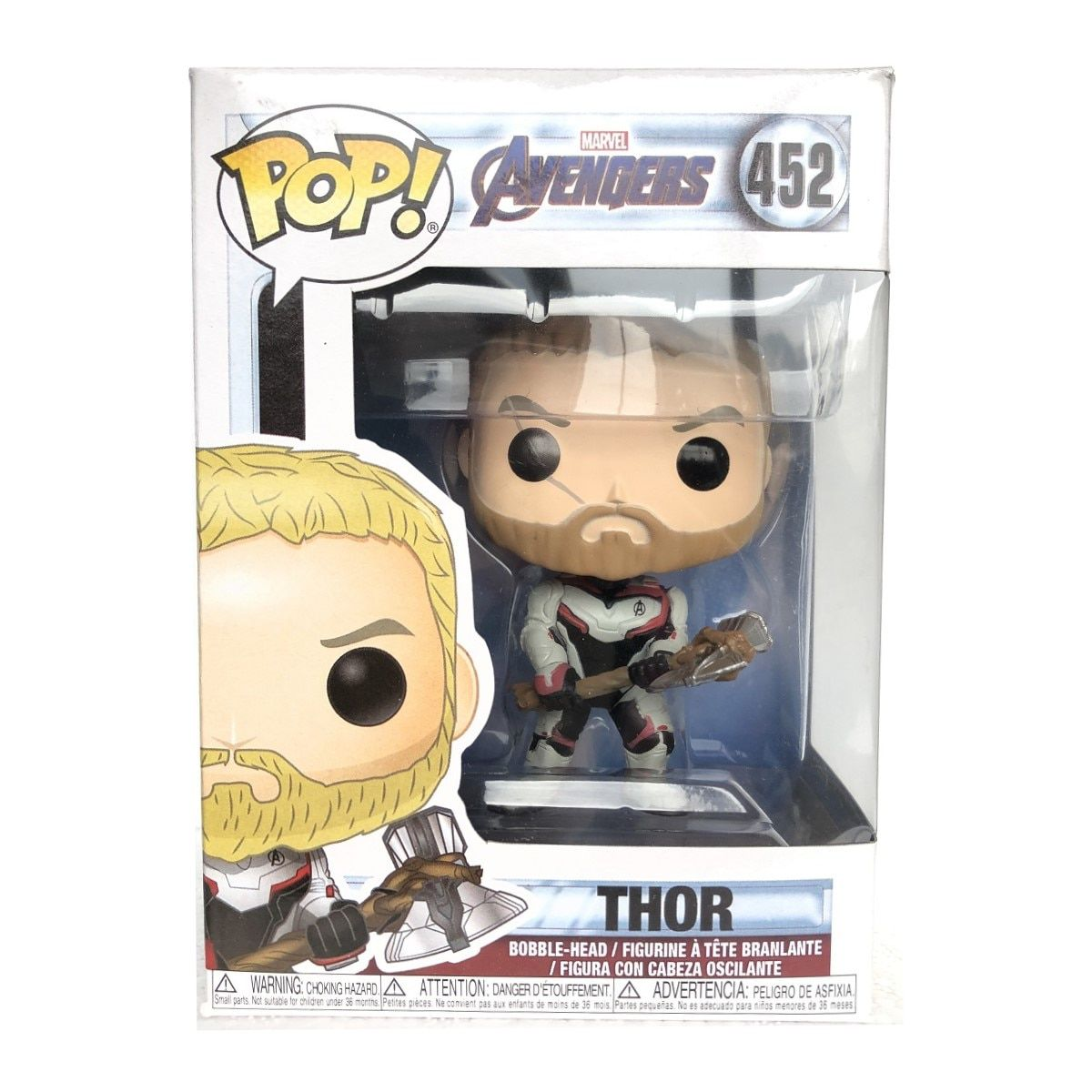 Funko Pop Marvel Avengers Endgame Thor 452  - Game Land Brinquedos