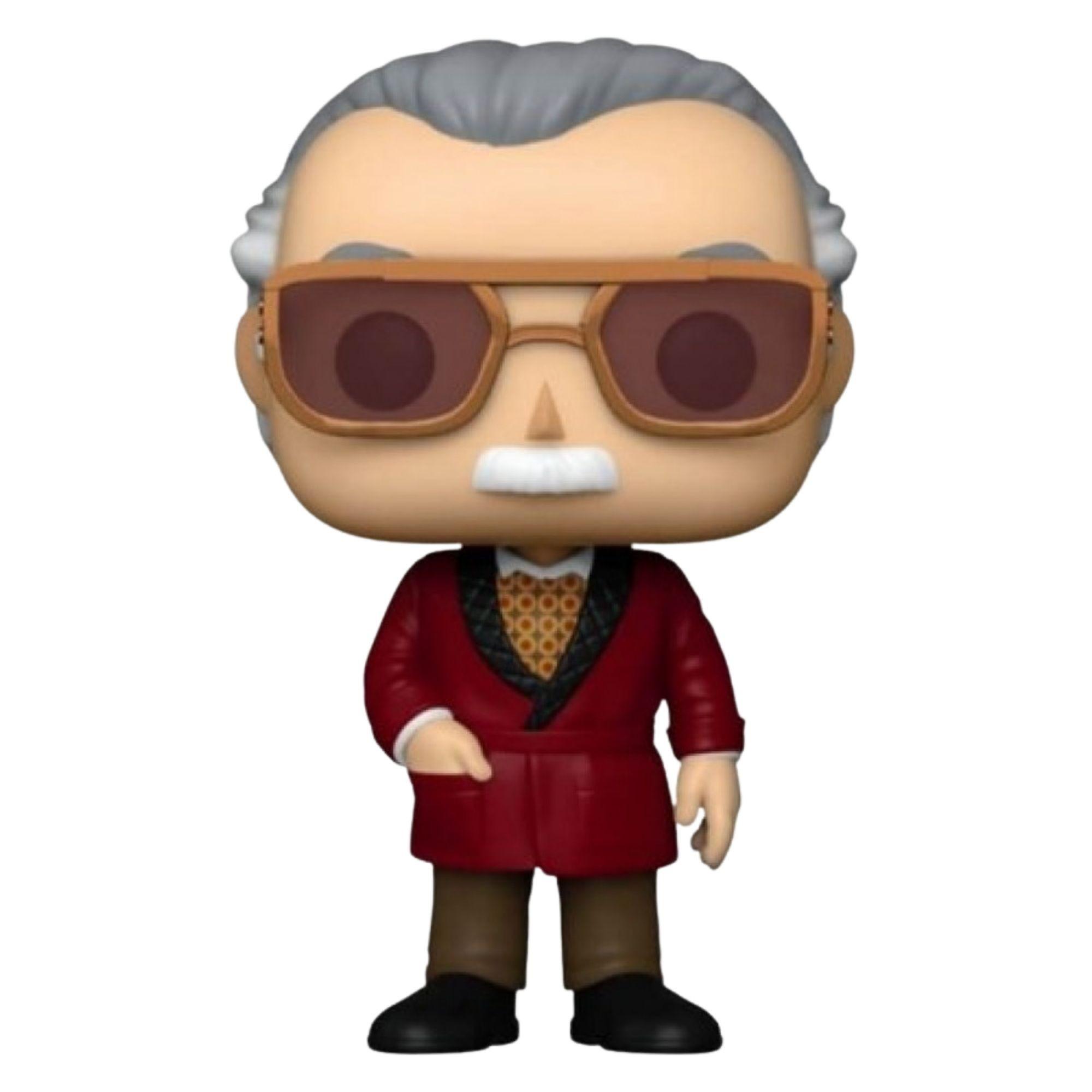 Funko Pop Marvel Iron Man Stan Lee #656 Exclusivo  - Game Land Brinquedos