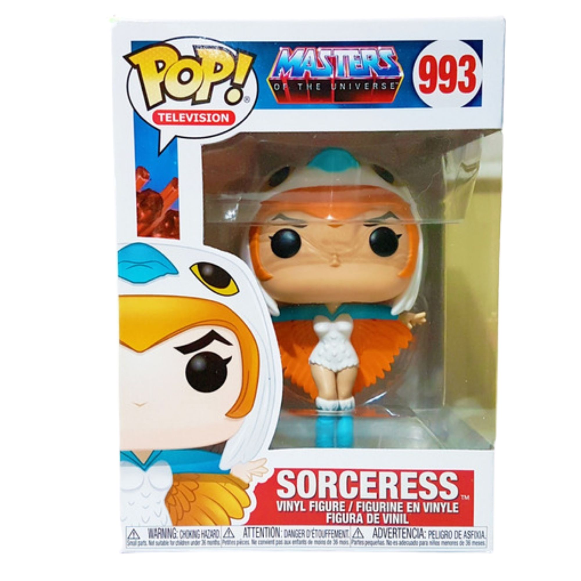 Funko Pop Masters Of The Universe Sorceress Feiticeira #993 - Game Land Brinquedos
