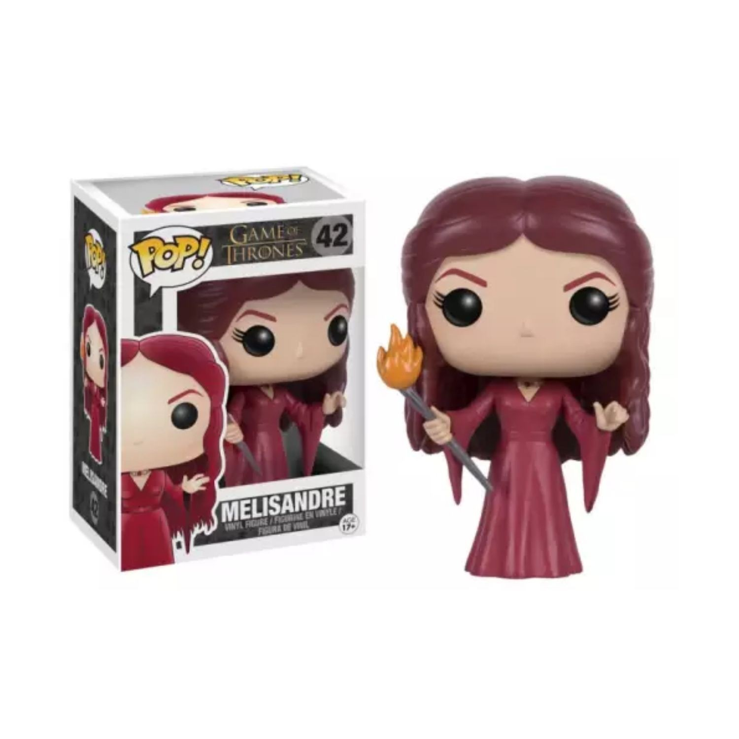 Funko Pop Melisandre Game of Thrones #42 Vaulted  - Game Land Brinquedos