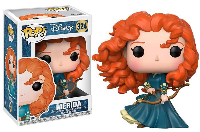 Funko Pop Merida 324 Disney Princesas  - Game Land Brinquedos