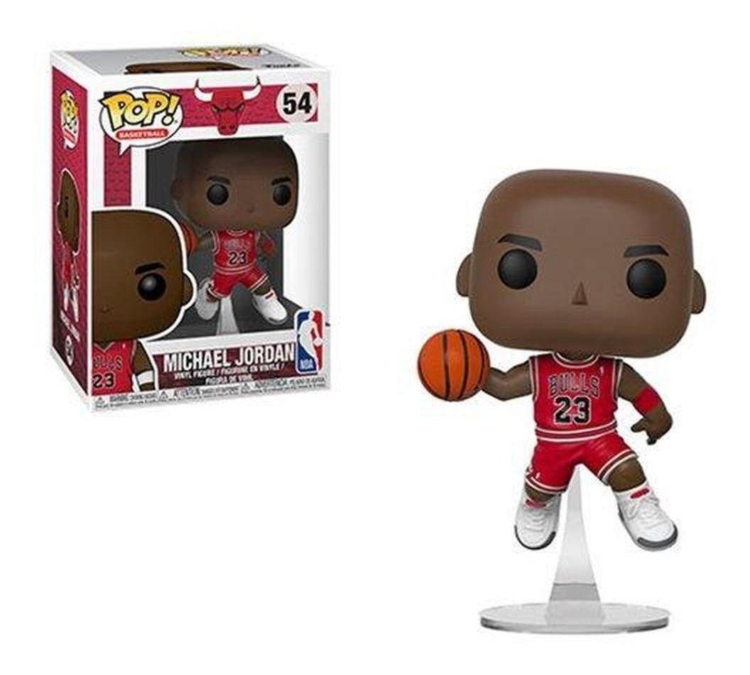 Funko Pop Michael Jordan Chicago Bulls  - Game Land Brinquedos