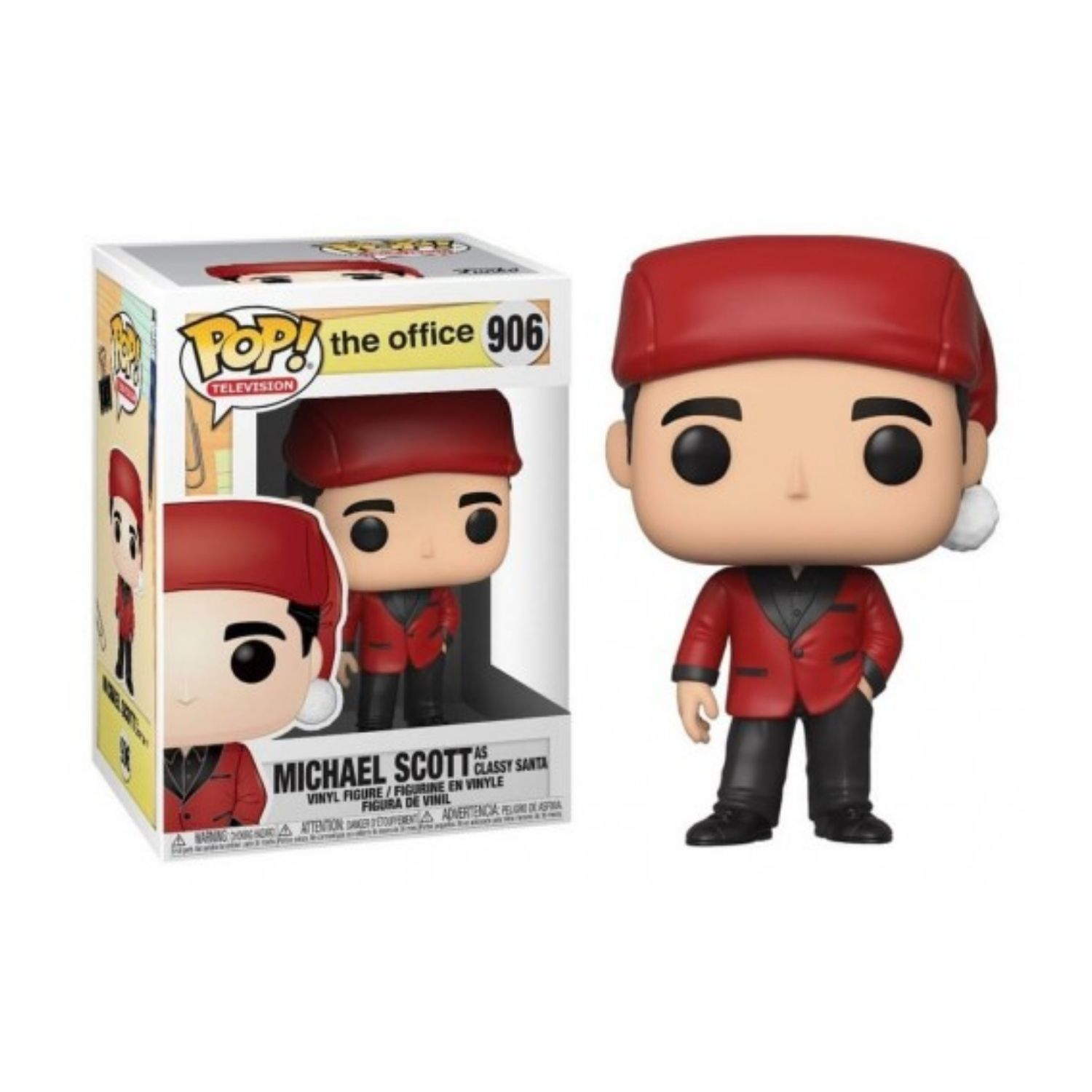 Funko Pop! Michael Scott As Classy Santa - The Office #906 - Game Land Brinquedos