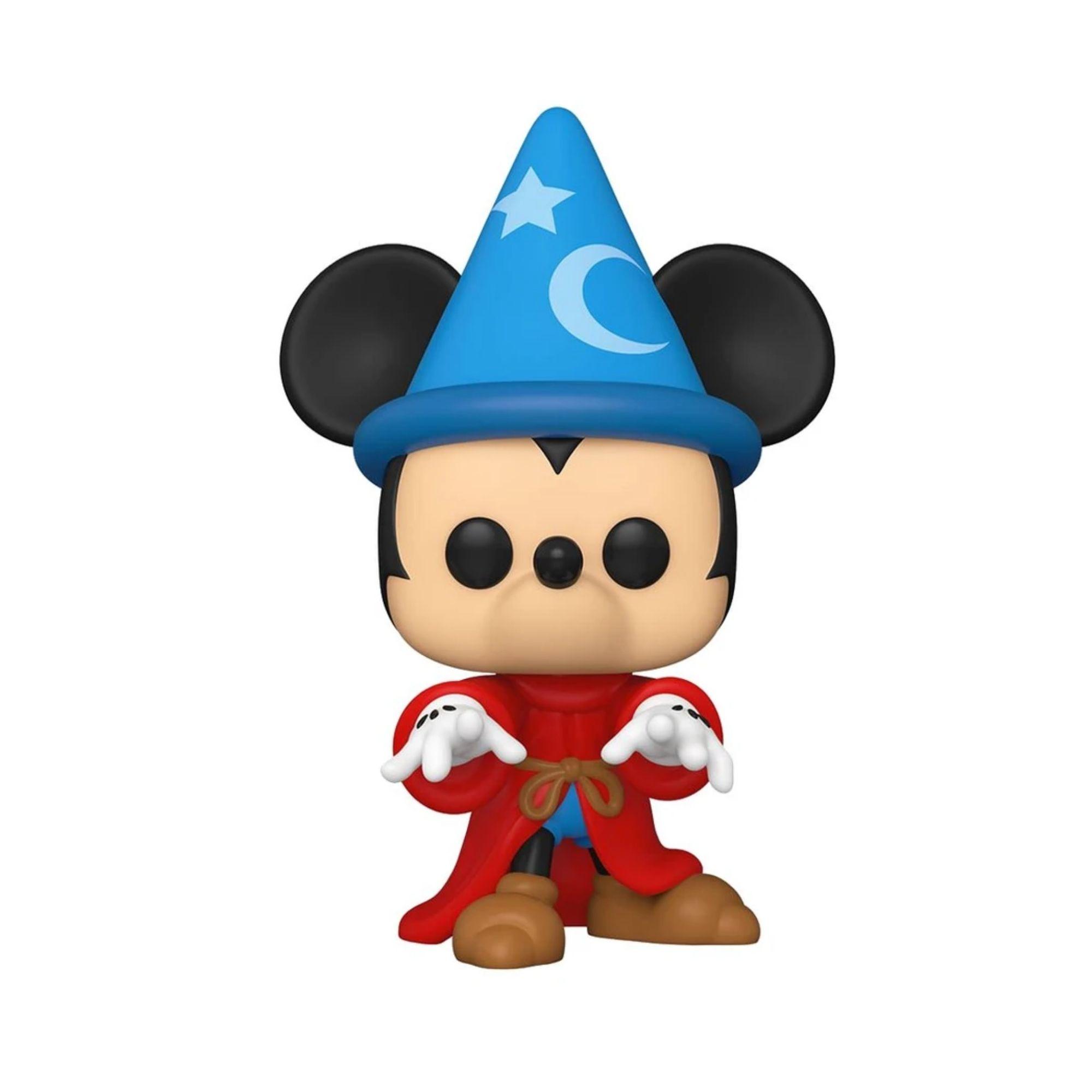 Funko Pop Mickey Disney Fantasia Sorcerer #990  - Game Land Brinquedos