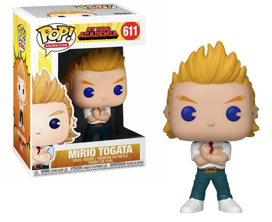 Funko Pop Mirio Togata My Hero Academia  - Game Land Brinquedos