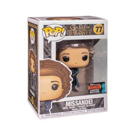 Funko Pop Missandei Game of Thrones NYCC Exclusiva  - Game Land Brinquedos