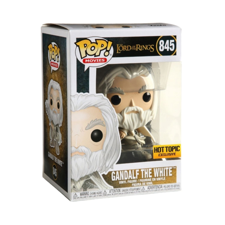 Funko Pop Movies Gandalf The White Hot Topic #845  - Game Land Brinquedos