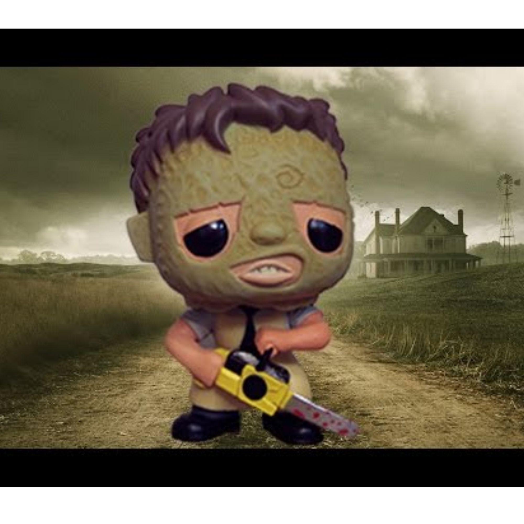 Funko Pop Movies Leatherface Massacre da Serra Elétrica #11  - Game Land Brinquedos
