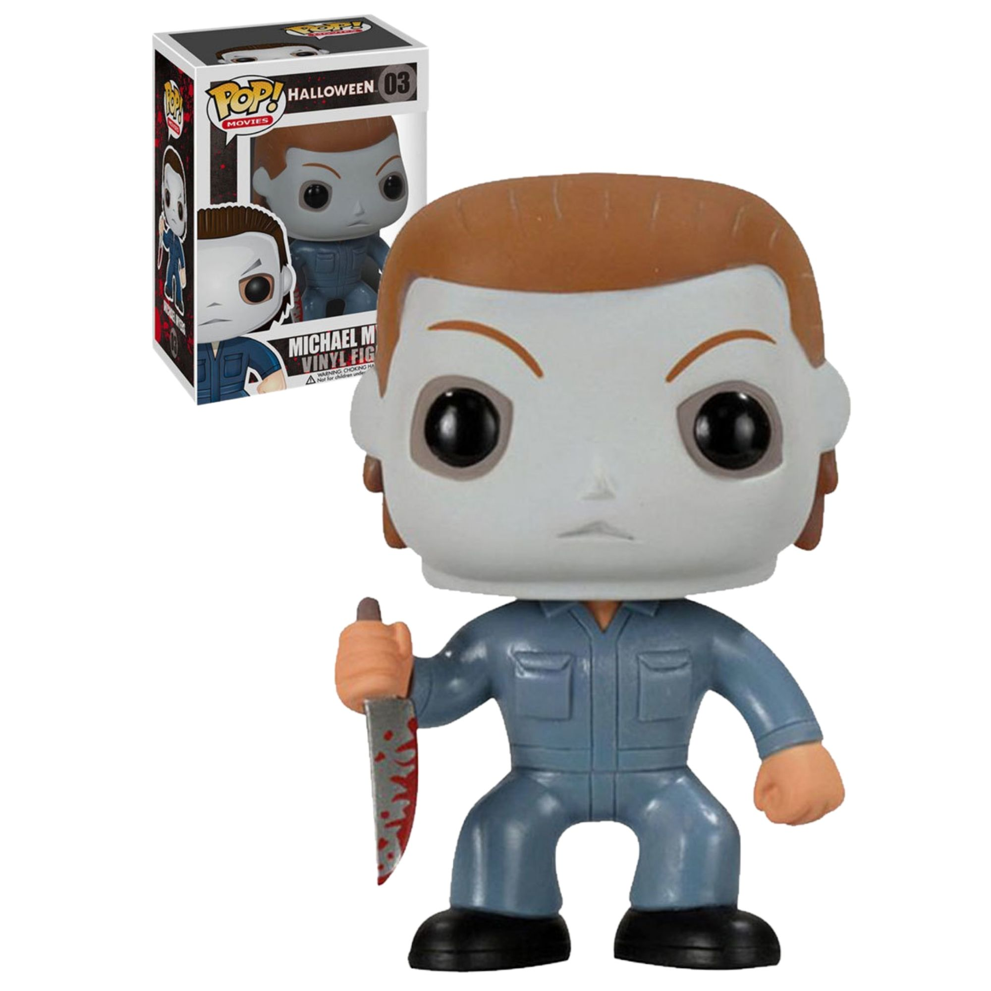 Funko Pop Movies Michael  Myers  #03 Halloween - Game Land Brinquedos