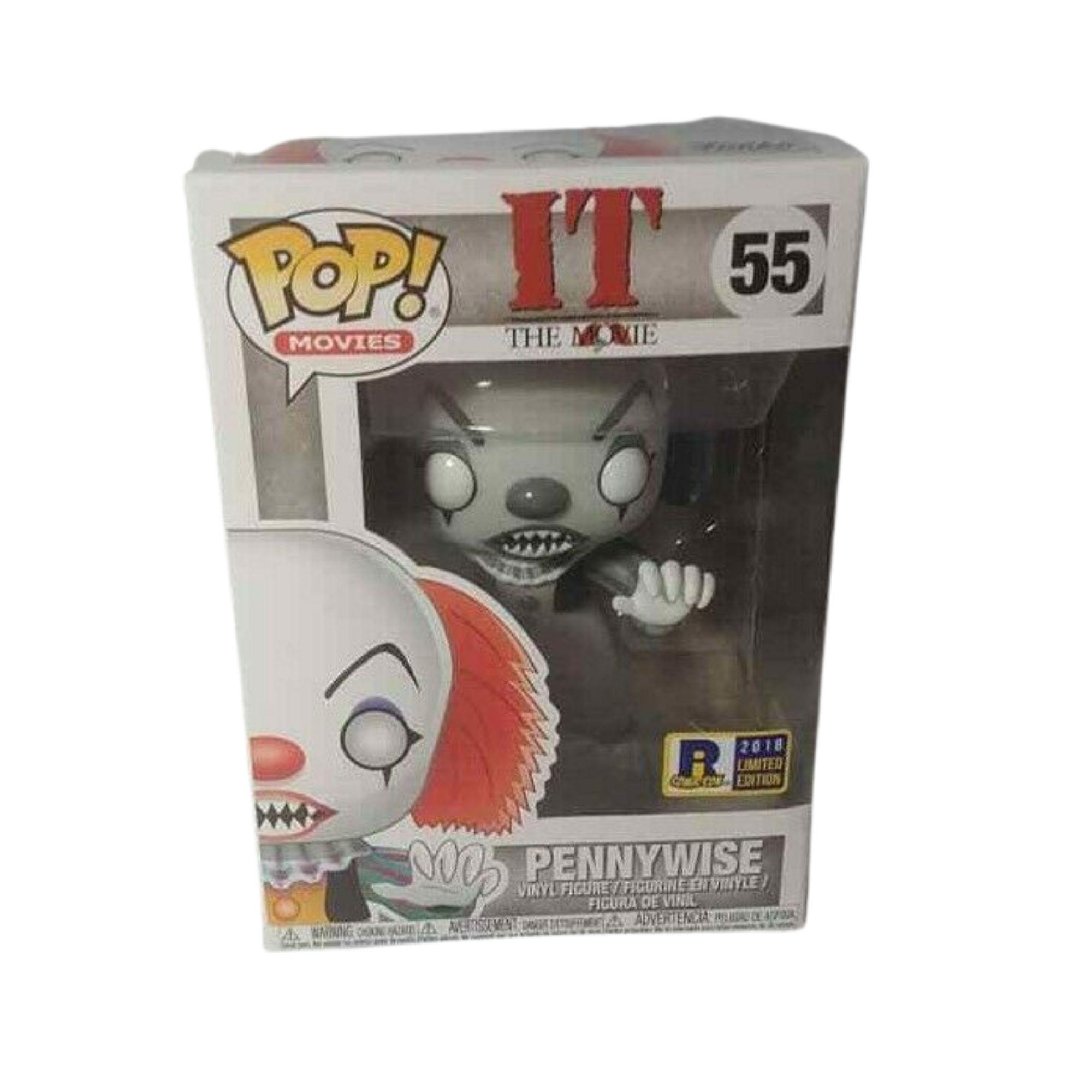 Funko Pop Movies Pennywise It  #55 Edição Limitada Ricomic.con  - Game Land Brinquedos