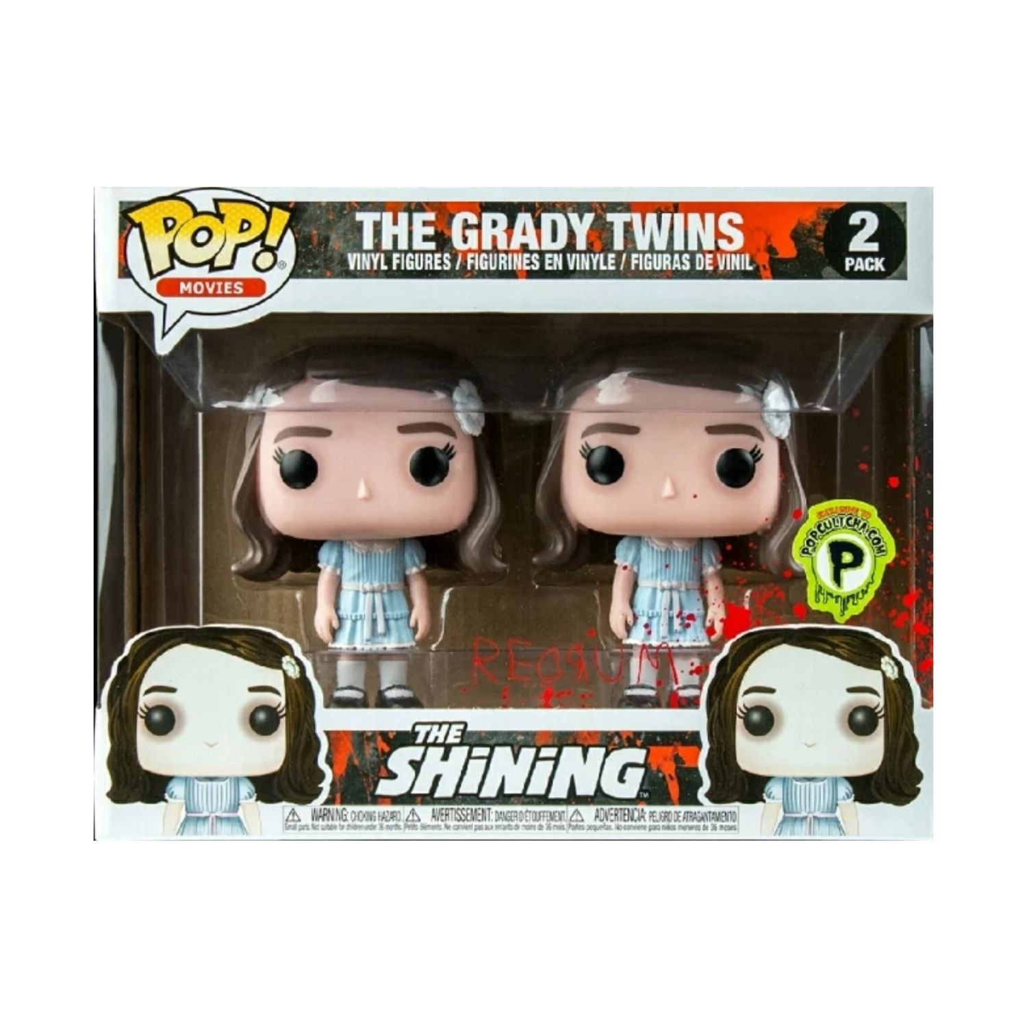 Funko Pop Movies The Shining The Grady Twins Exclusivo Popcultcha  - Game Land Brinquedos