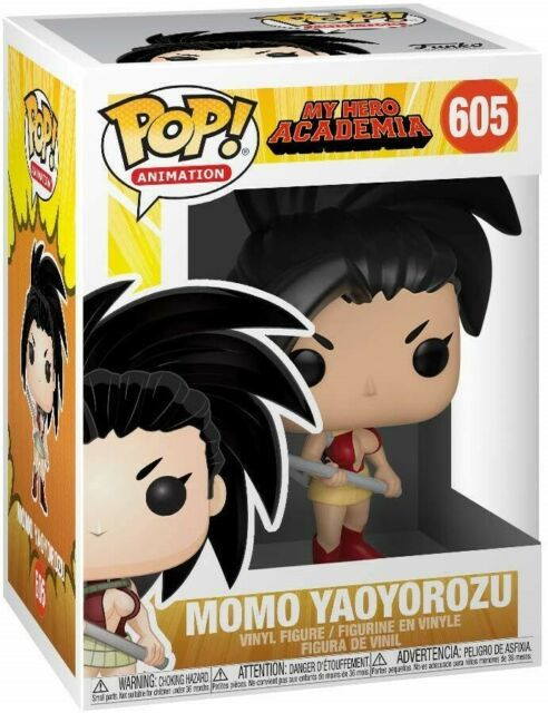Funko Pop My Hero Academia Momo Yaoyorozu   - Game Land Brinquedos