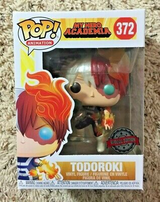 Funko Pop My Hero Academia Todoroki Metálico Special Edition #372  - Game Land Brinquedos
