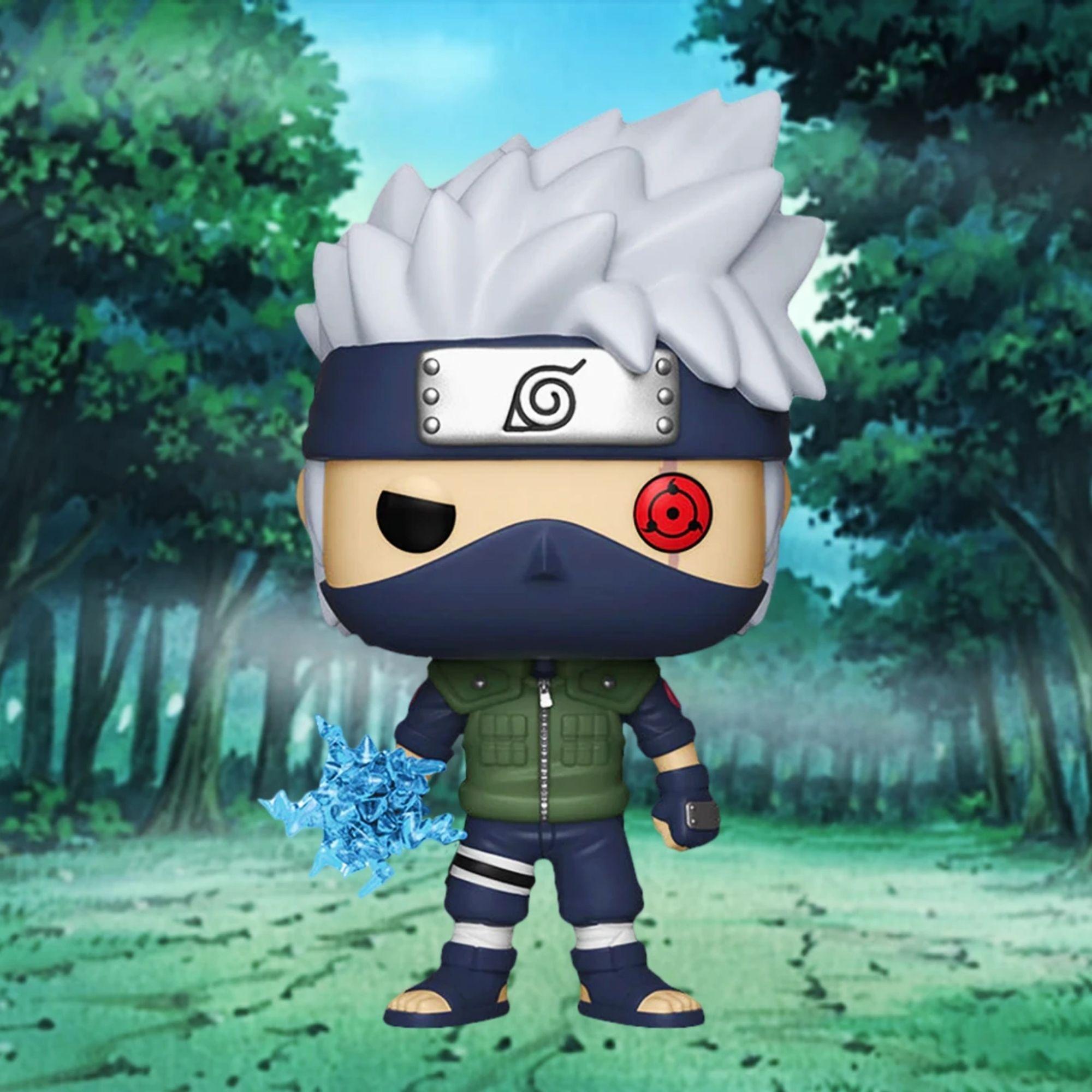 Funko Pop Naruto Kakashi Lightning Blade #548 Edição Limitada  - Game Land Brinquedos