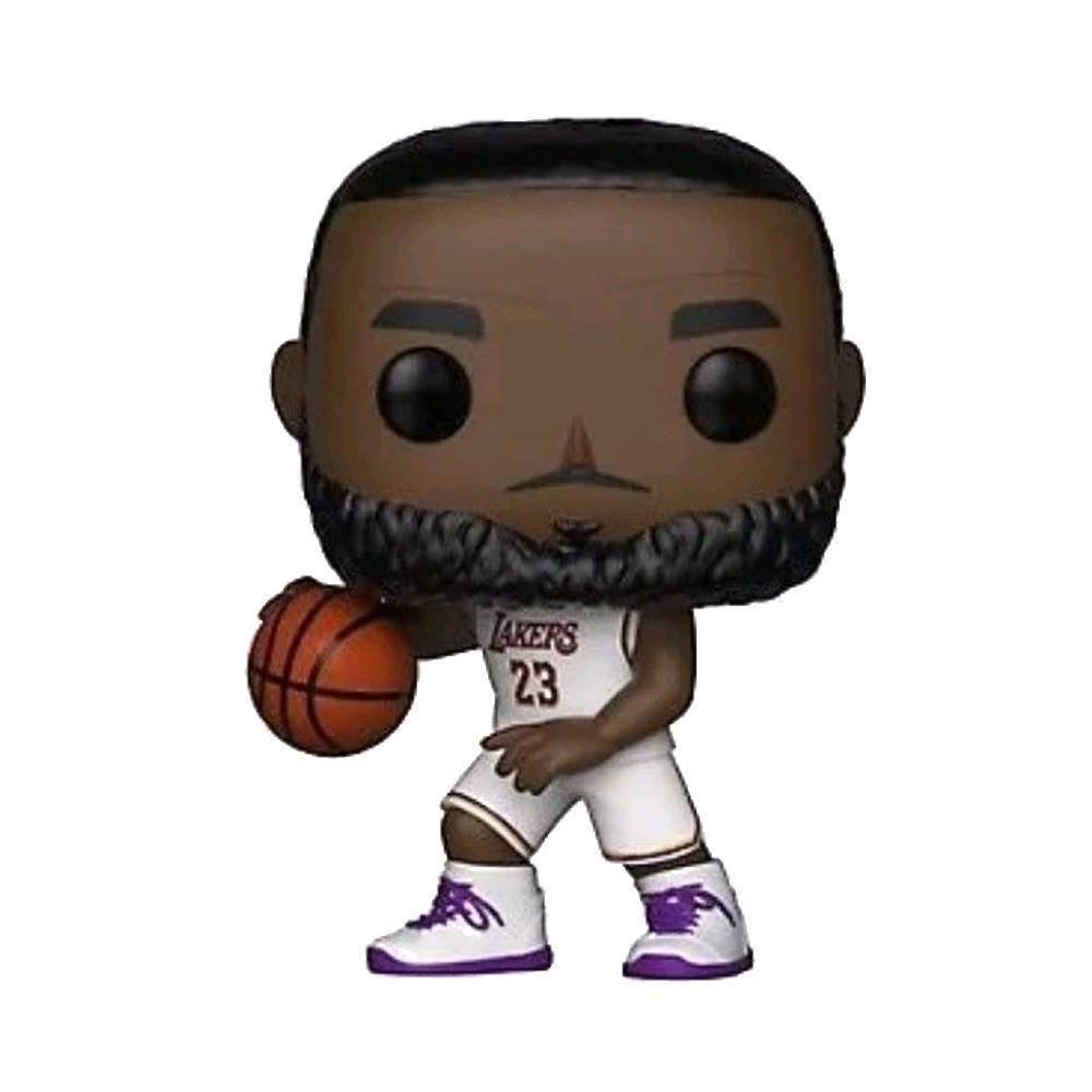 Funko Pop NBA Lebron James Lakers Los Angeles 52 Basquete  - Game Land Brinquedos