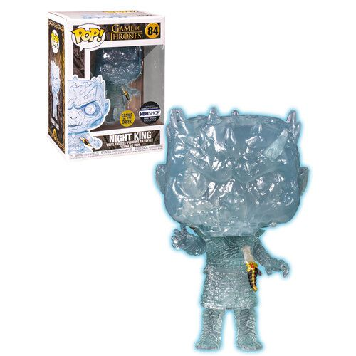 Funko Pop Night King HBO Shop Exclusivo GITD  - Game Land Brinquedos