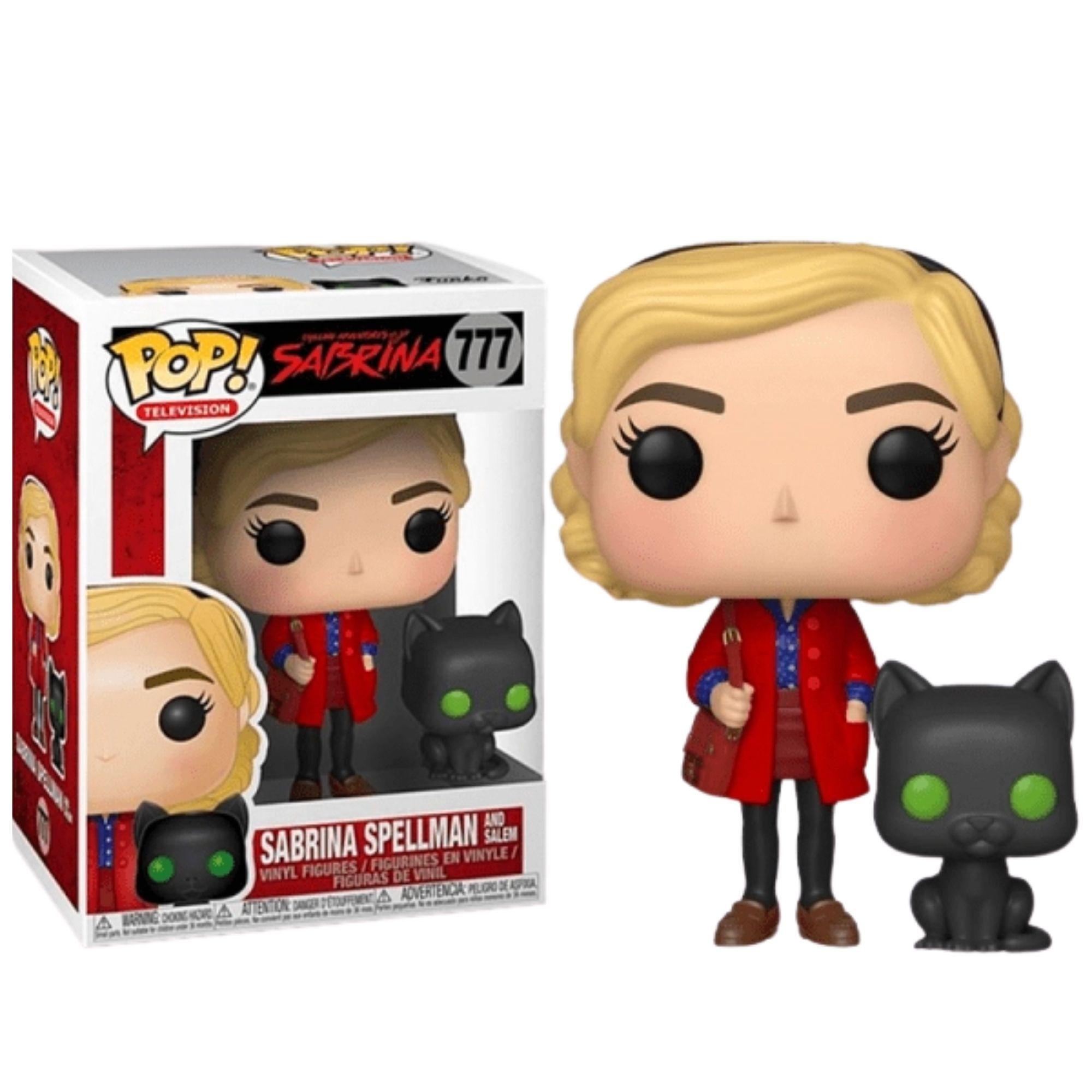 Funko Pop O Mundo Sombrio De Sabrina  - Game Land Brinquedos