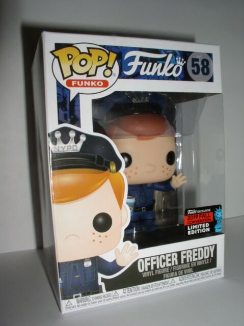 Funko Pop Officer Freddy NYCC Exclusivo  - Game Land Brinquedos