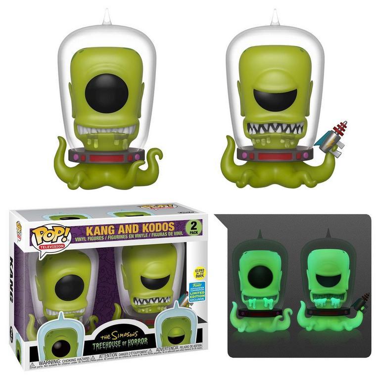 Funko Pop Pack Simpsons Kang e Kodos Edição Limitada San Diego Comic Con  - Game Land Brinquedos