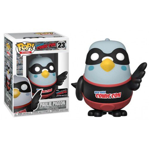 Funko Pop Paulie Pigeon Pombo Black Exclusivo New York Comic Con  - Game Land Brinquedos
