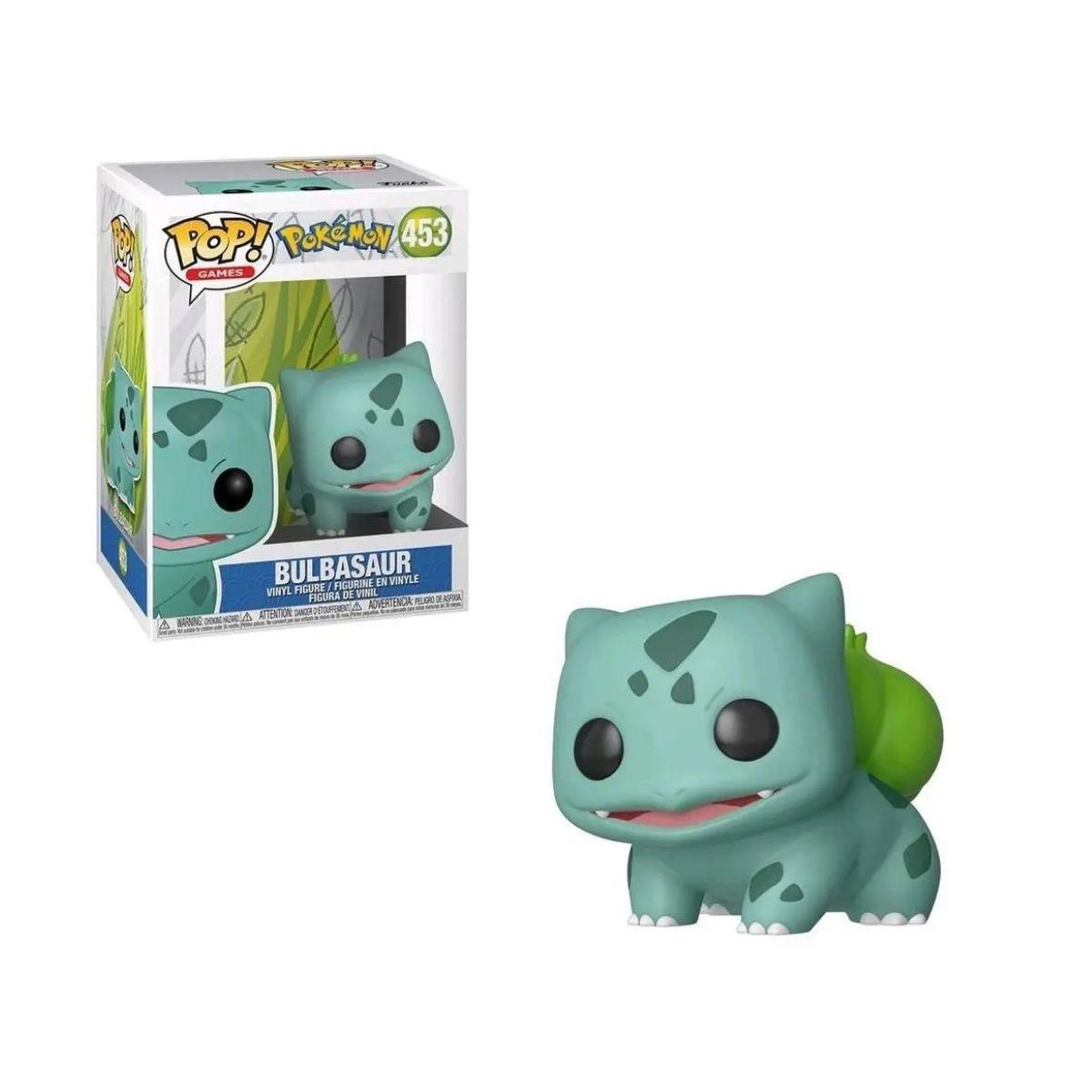 Funko Pop Pokemon Bulbasaur #453  - Game Land Brinquedos