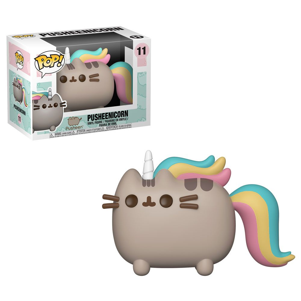 Funko Pop Pusheenicorn Exclusivo Funkoshop Popcultcha  - Game Land Brinquedos