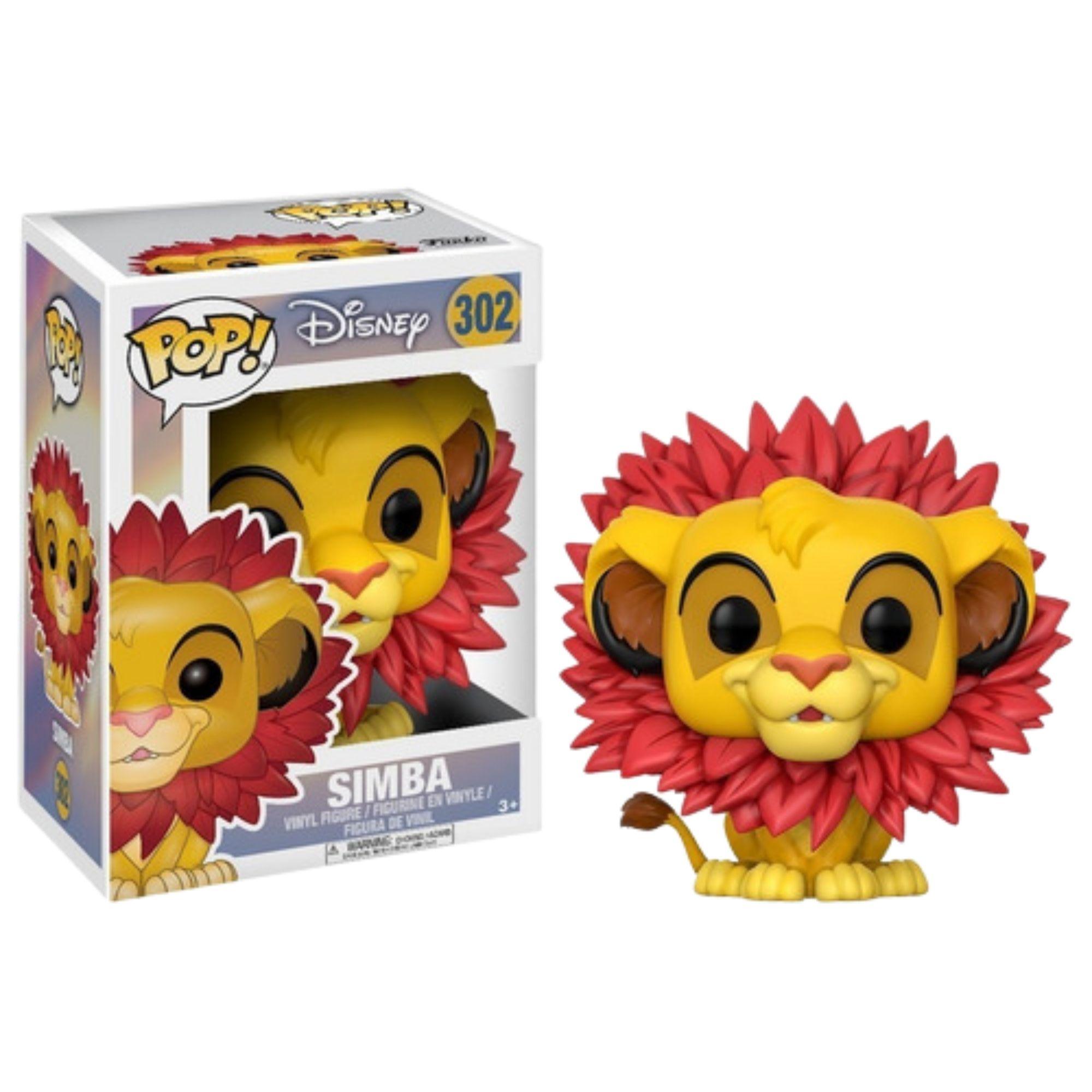 Funko Pop Rei Leão Simba Disney #302  - Game Land Brinquedos