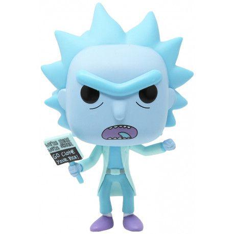 Funko Pop Rick And Morty Hologram Rick Clone   - Game Land Brinquedos