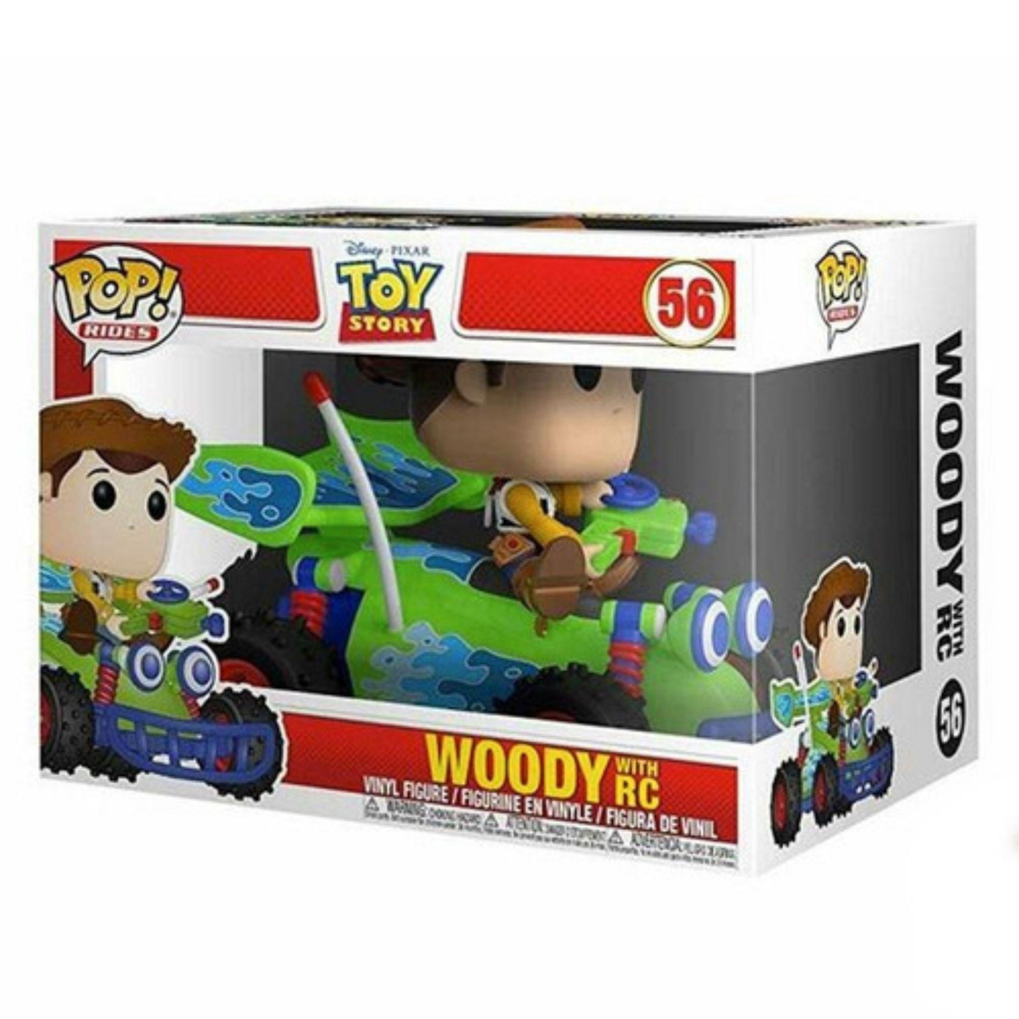 Funko Pop Rides Disney Toy Story Woody e RC #56  - Game Land Brinquedos