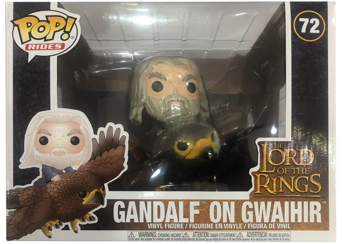 Funko Pop Rides Gandalf on Gwaihir Lord Of Rings   - Game Land Brinquedos