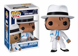 Funko Pop Rock Michael Jackson Smooth Criminal   - Game Land Brinquedos