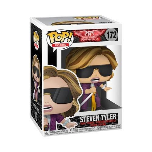 Funko Pop Rocks Aerosmith Steven Tyler   - Game Land Brinquedos