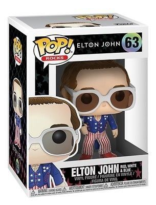 Funko Pop Rocks  Elton John  - Game Land Brinquedos