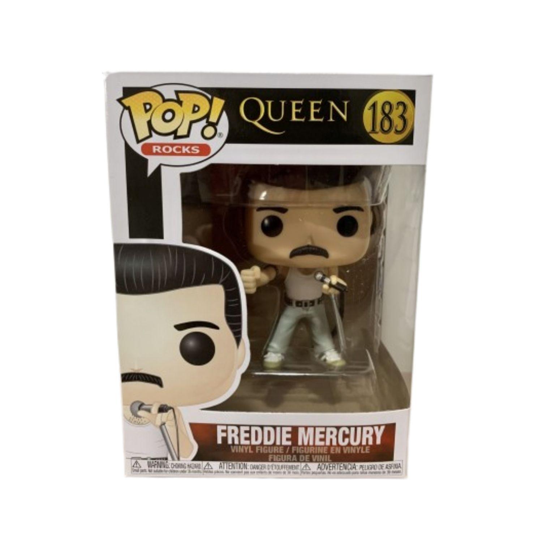Funko Pop Rocks Freddie Mercury Radio Gaga #183 Queen  - Game Land Brinquedos