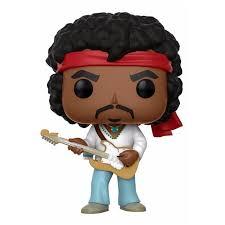 Funko Pop Rocks Jimi Hendrix  - Game Land Brinquedos