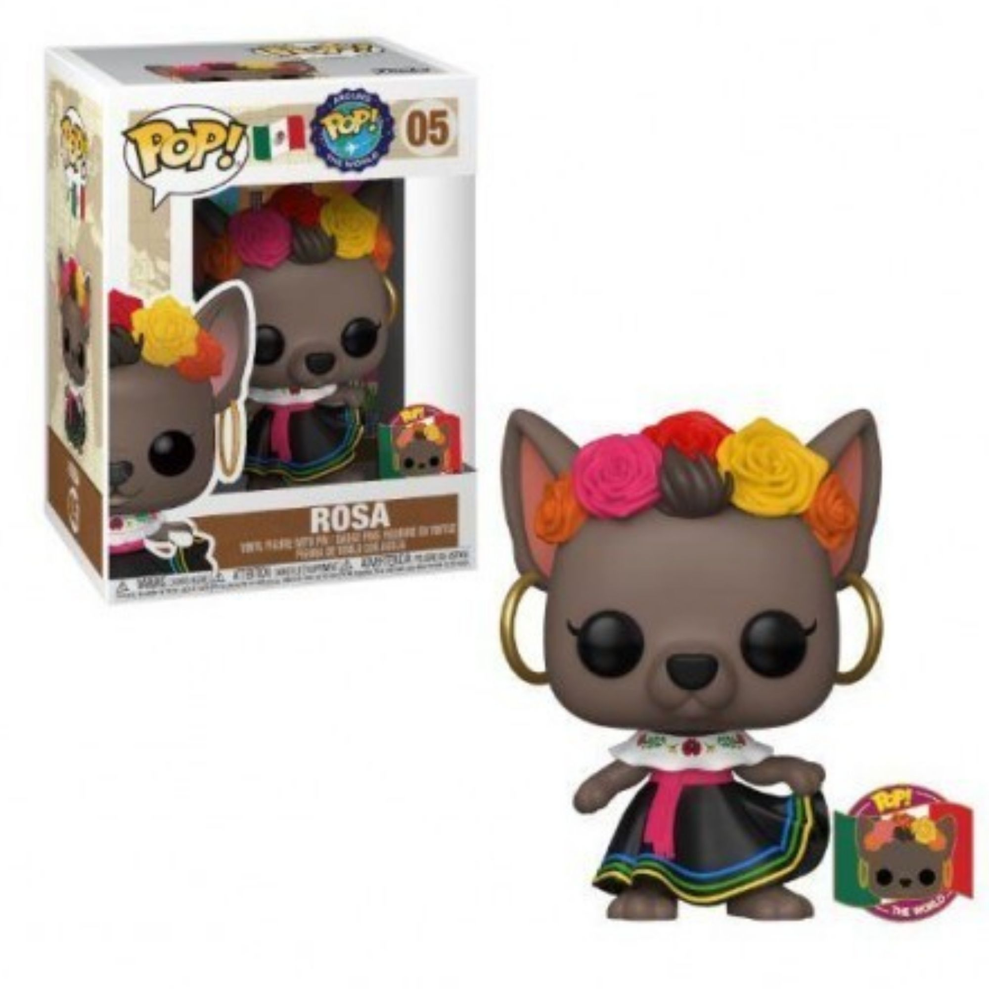 Funko Pop Rosa  #05 Around The World  - Game Land Brinquedos