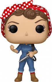 Funko Pop Rosie the Riveter American History Icons 08 - Game Land Brinquedos