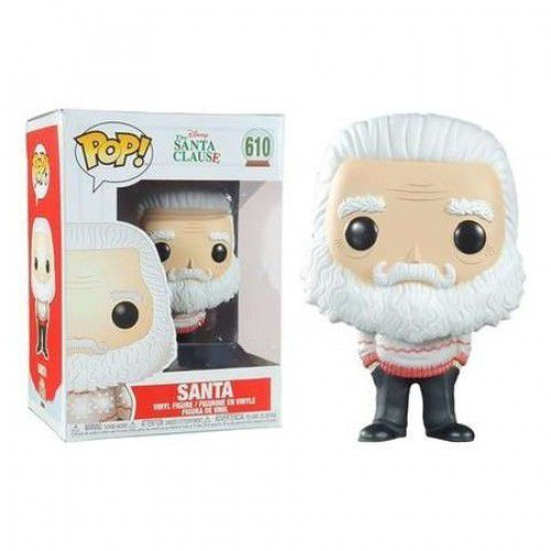 Funko Pop Santa Disney Papai Noel   - Game Land Brinquedos