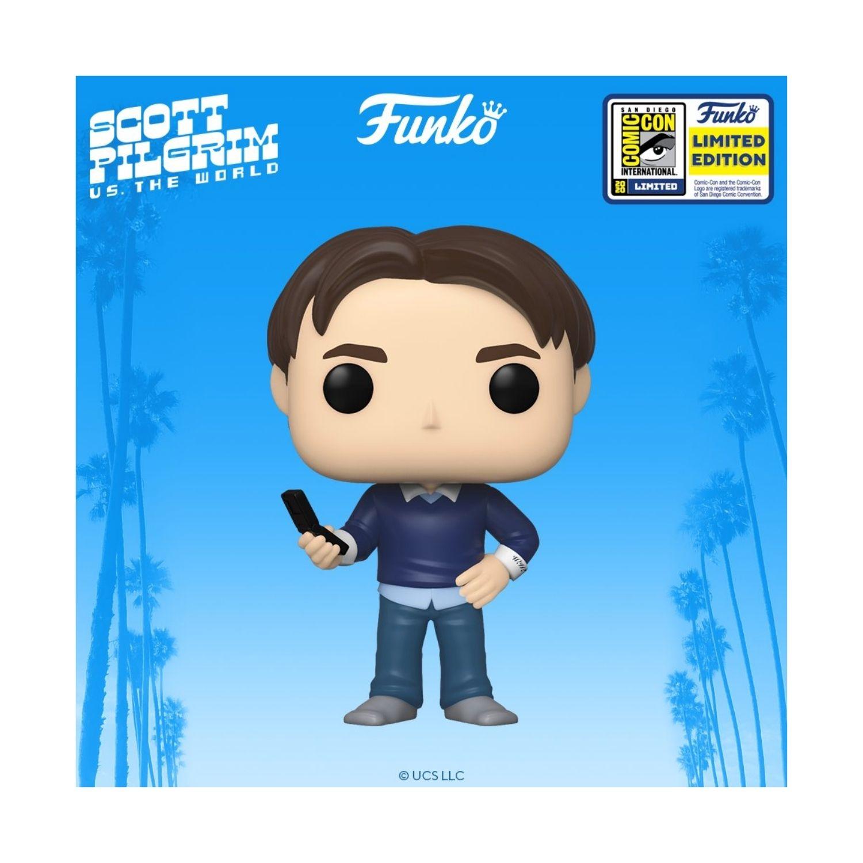 Funko Pop Scott Pilgrim WALLACE WELLS #944 SDCC 2020 Exclusive  - Game Land Brinquedos