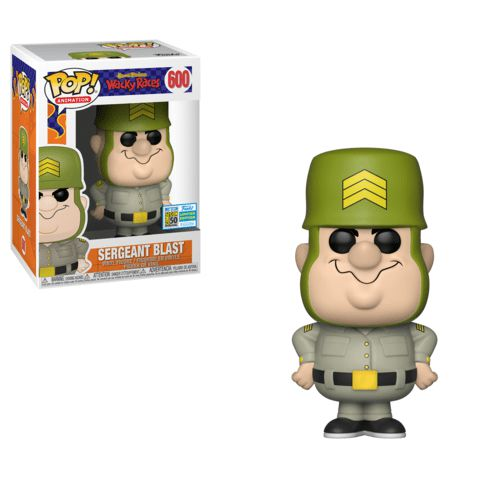 Funko Pop Sergeant Blast Corrida Maluca Hanna Barbera  - Game Land Brinquedos
